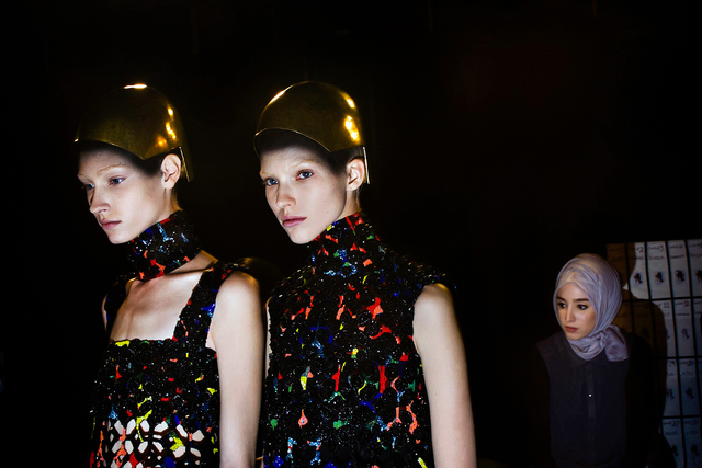 , 'Backstage at the Alexander McQueen fashion show. Paris Fashion Week, Spring 2014.,' 2014, Anastasia Photo