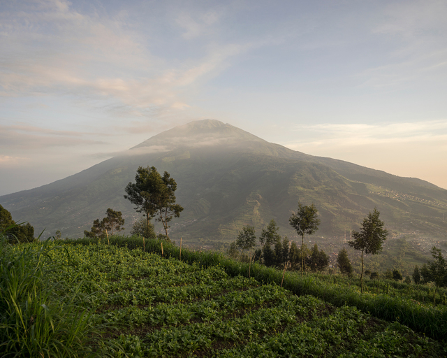 , 'Mount Merapi: Mount Mebabu as seen from Mount Merapi,' 2016, Francesca Maffeo Gallery