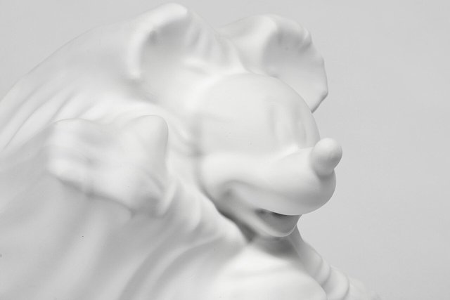 Daniel Arsham, 'Hollow Mickey', 2019, Sculpture, Resin, Dope! Gallery Gallery Auction
