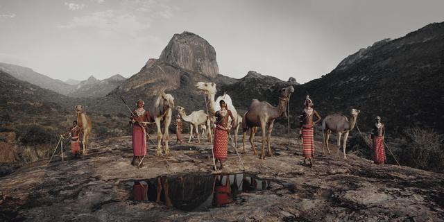 , 'XVII 216 Lelesas, Louelen, Lewangu, Lepokodou, Loimgu & Nyerere Ndoto Mountain Range Kenya,' 2010, Bryce Wolkowitz Gallery