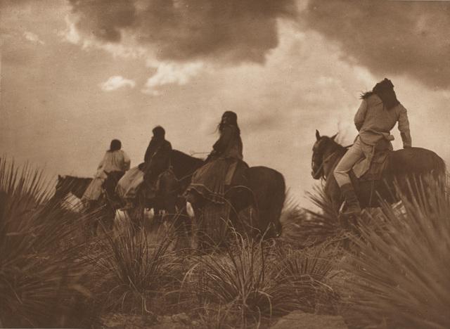 , 'Storm – Apache,' 1906, Portland Art Museum