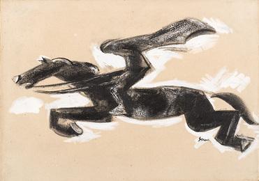 Illustrazione della novella I fantocci e Marilù di Rodolfo Cazzaniga