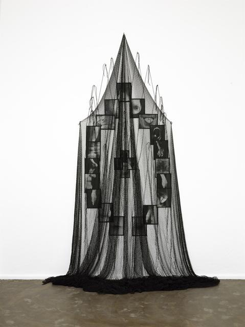 , 'Mes voeux sous filet,' 1997, Galerie Isabella Czarnowska