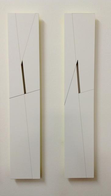 Macaparana, 'Untitled, diptic', 2015, Mixed Media, Mixed media on Hardboard, Jorge Mara - La Ruche