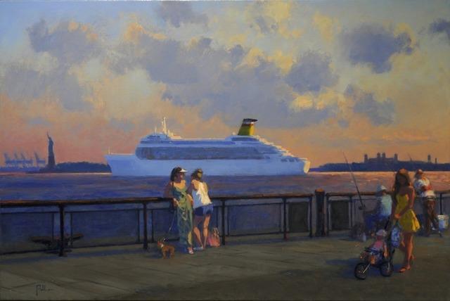 , 'On the Boardwalk,' 2012, ACA Galleries