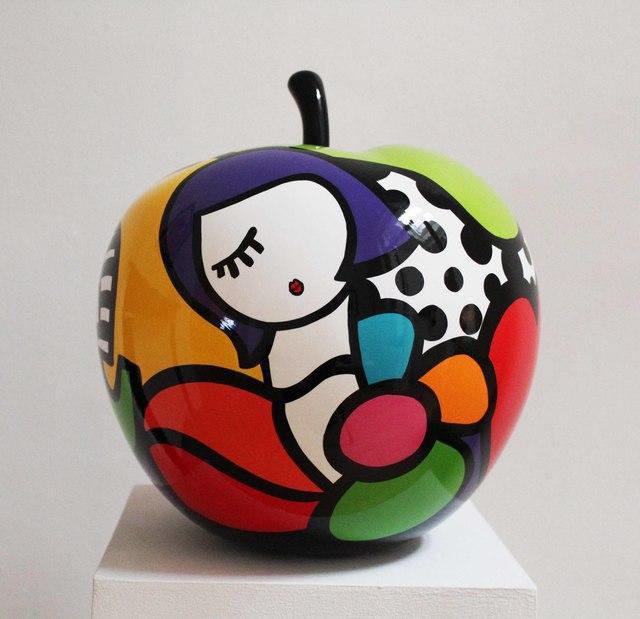 Virginia Benedicto, 'Flower Power Apple', 2017, Galerie Duret
