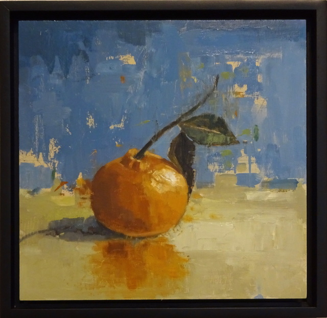 , 'Still Life with Tangerine,' 2017, Elins Eagles-Smith Gallery