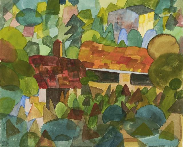 , 'Tessiner Landschaft,' 1922, Ludorff