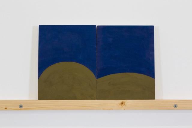 , 'Reading Painting 3,' 2016, Nina Johnson