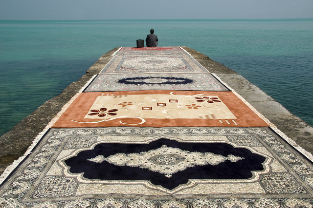 , 'Water & Persian Rugs,' 2004, Officine dell'Immagine
