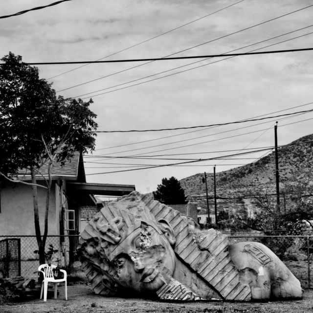 , 'Backyard. Doña Ana County, NM.,' 2015, Anastasia Photo