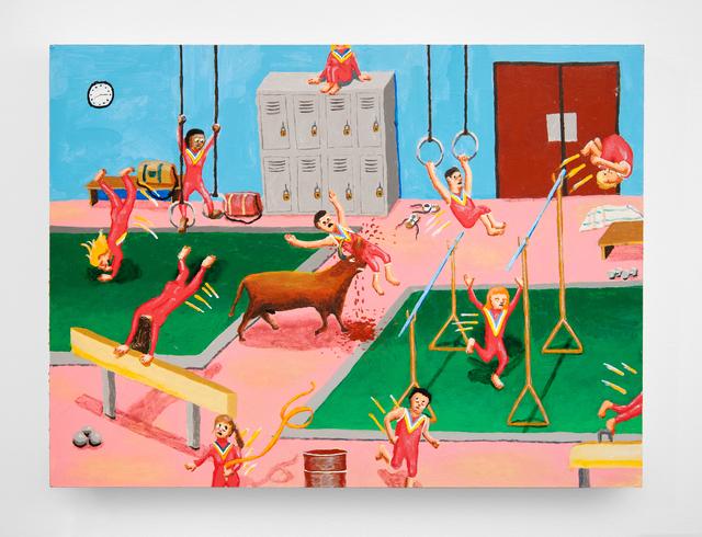 , 'Gymnastics Bull Attack,' 2013, Upfor