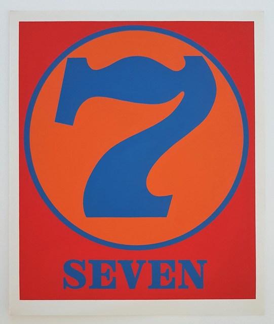 """Robert Indiana, 'Numbers Suite: """"Seven""""', 1968, Cerbera Gallery"""