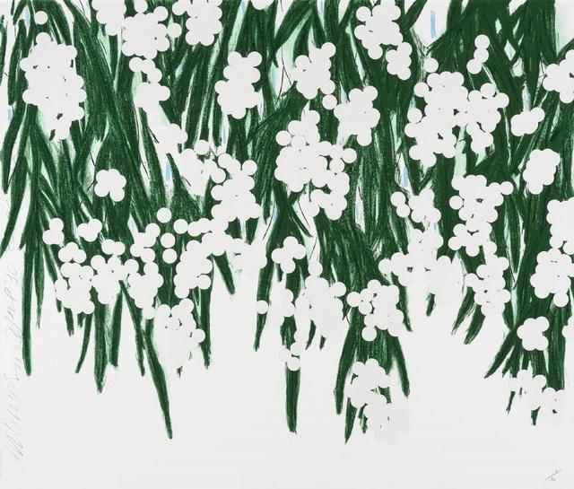 Donald Sultan, 'Mimosa, April 30, 2015', 2015, William Campbell Contemporary Art, Inc.