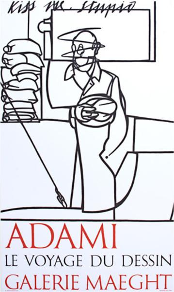 Valerio Adami, 'Exhibition Poster', 1975, David Barnett Gallery