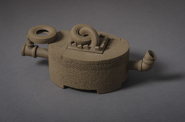 , 'Teapot with Tires,' 1985, Hieronymus