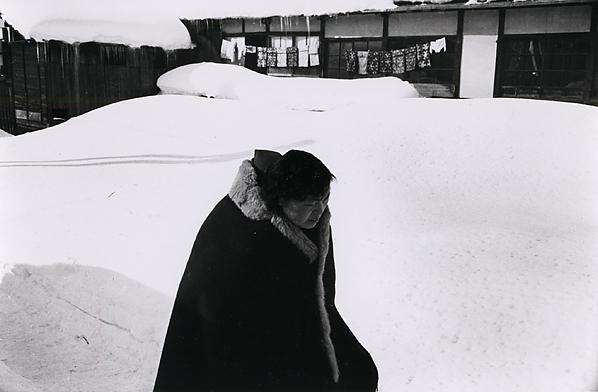 Kiichi Asano, 'Untitled - Woman In Snow', c1958, Scott Nichols Gallery