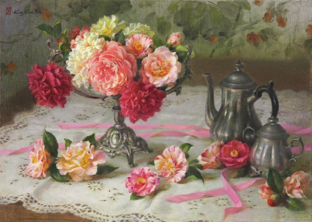 , 'Camellia,' 2016, East Gallery