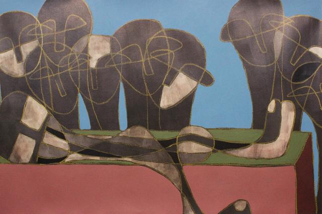, 'Untitled,' 2017, Albareh Art Gallery