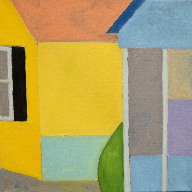 , 'Blue/Yellow 1,' 2018, Carter Burden Gallery