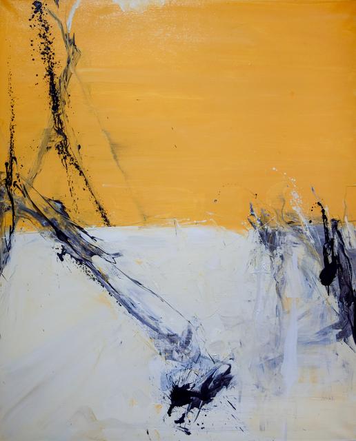 Tom Lieber, 'Ochre Drop', 2018, Robischon Gallery