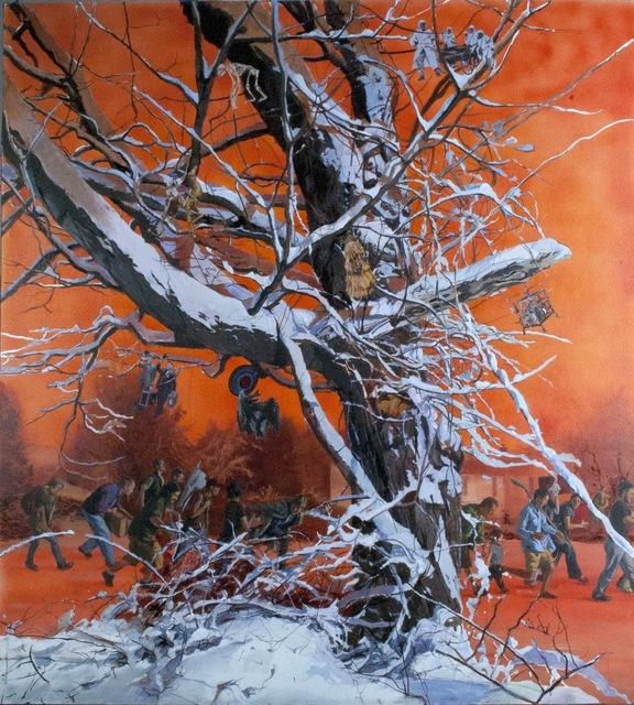 , 'Orange Was the Sky,' 2010, Fernando Luis Alvarez Gallery