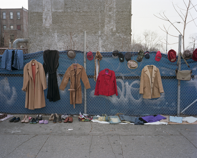 , 'Harlem Redux: Clothes and Bag for Sale,' 2016, Rena Bransten Gallery