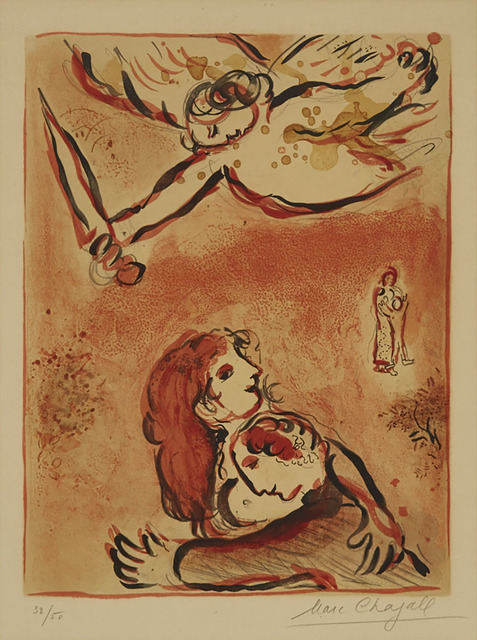 Marc Chagall, 'Le Visage D'Israel (From Dessins Pour La Bible)', 1960, Waddington's