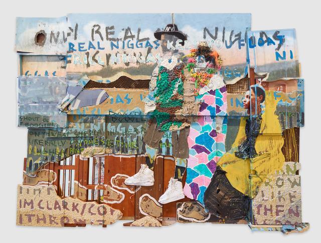 , 'Untitled (Real N*****),' 2015, Diane Rosenstein