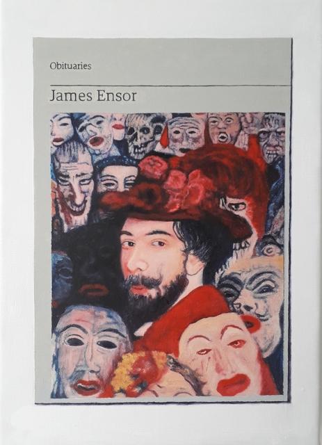 , 'Obituary: James Ensor ,' 2019, Charlie Smith London