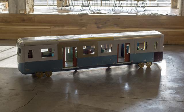 , 'Suburb Train,' 2014, Zilberman Gallery