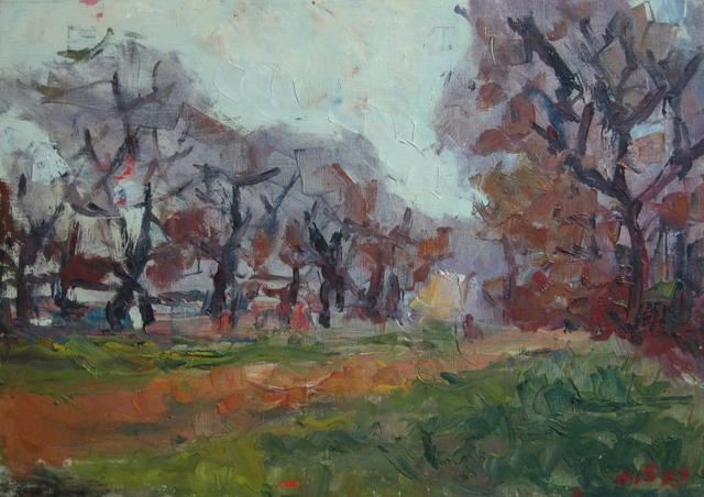 Aron Froimovich Bukh, 'Sunset in Autumn', ca. 2000, Surikov Foundation