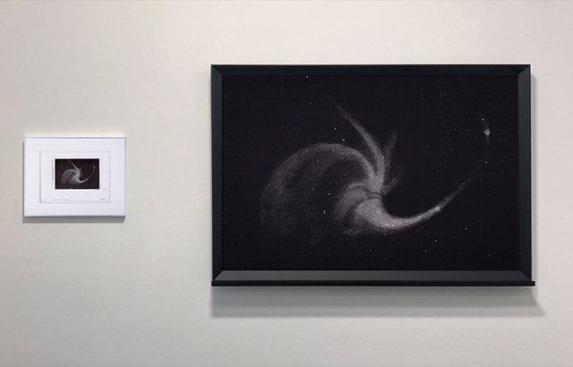 , 'Dust (Whirlpool Nebula),' 2017, Perrotin