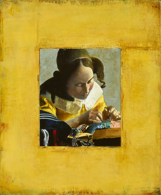 , 'Vermeer Encircled,' 2016, J. Cacciola Gallery