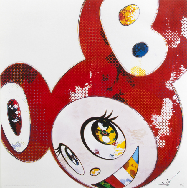 Takashi Murakami, 'And Then X6 (Red)', 2013, Julien's Auctions