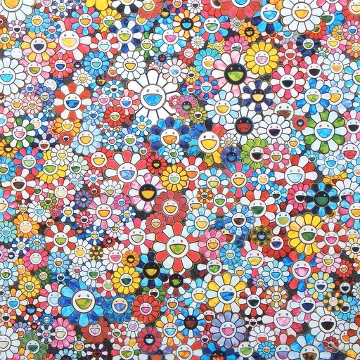 Takashi Murakami, 'The Future Will Be Full of Smile for Sure!', 2012, Lougher Contemporary