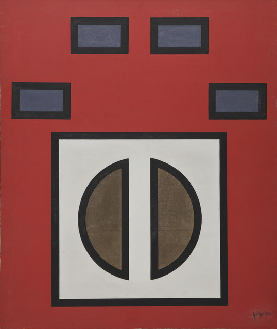 , 'Space Structure No. 8,' 1984, Boers-Li Gallery