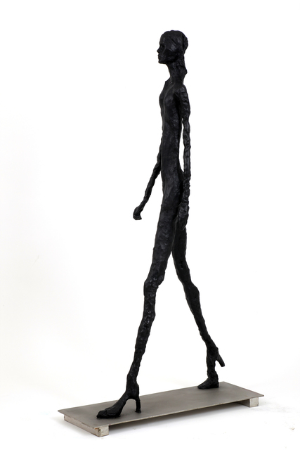 , 'Giacometti's Granddaughter as a Supermodel,' 2012, Zemack Contemporary Art