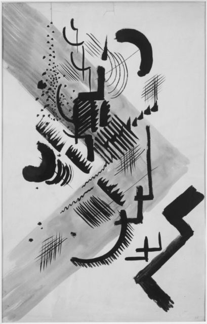 , 'Forms I,' 1913, Galerie Thomas