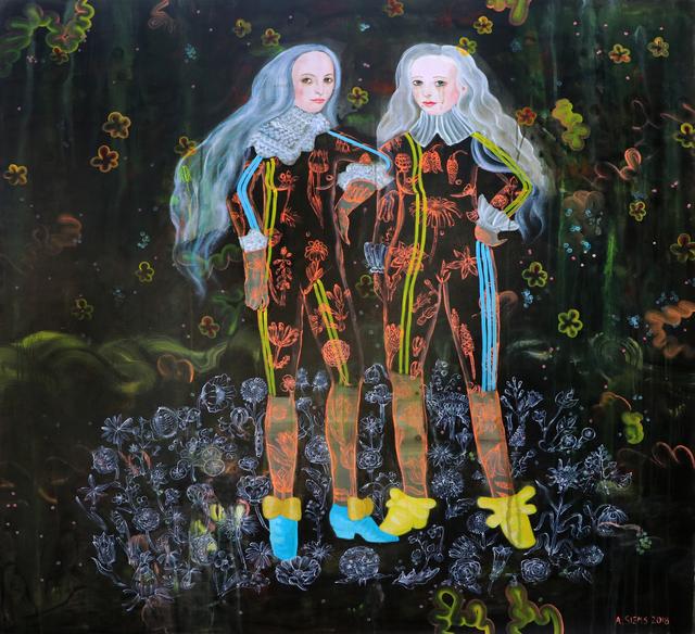 , 'Feral Friends ,' 2018, David Lusk Gallery