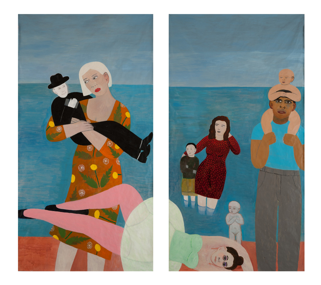 , 'Coming Ashore,' 2016, James Harris Gallery
