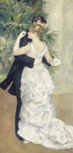 , 'Dance in the City ,' 1883, The National Art Center, Tokyo
