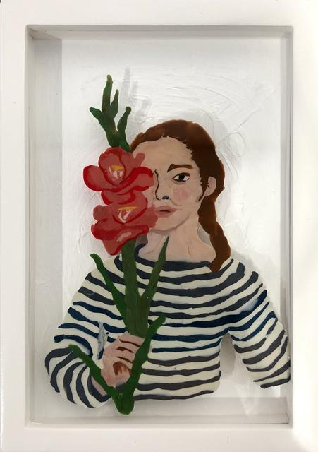 , 'Hiding Behind Flowers,' 2019, 99 Loop Gallery