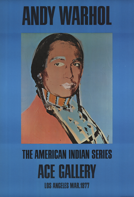 Andy Warhol, 'American Indian (Blue)', 1977, ArtWise
