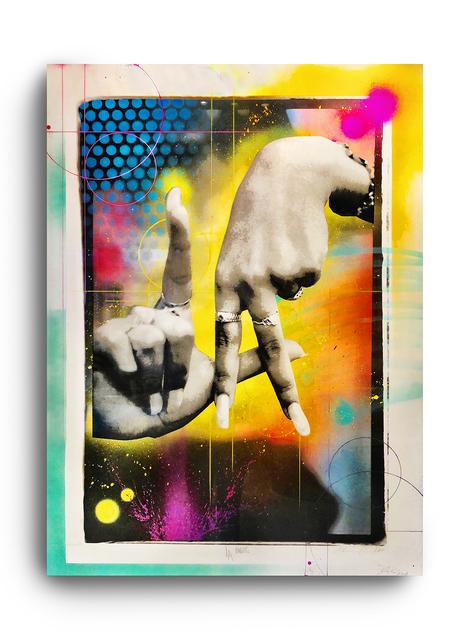 RISK, 'LA Fingers', 2018, ArtLife Gallery