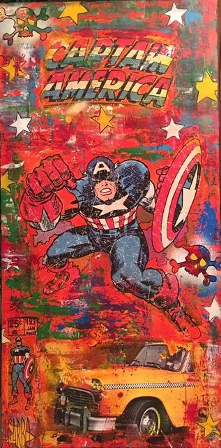 , 'Capitaine America,' 2018, Samhart Gallery