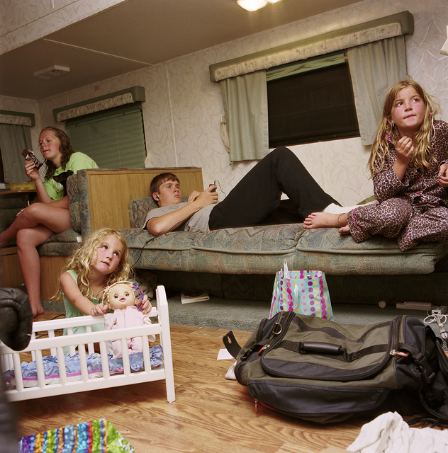 , 'Candi and Eric's Kids in the Camper,' 2011, Postmasters Gallery