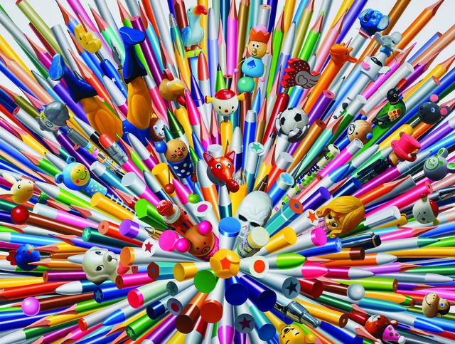 , 'Pens,' 2013, Gallery Hakgojae