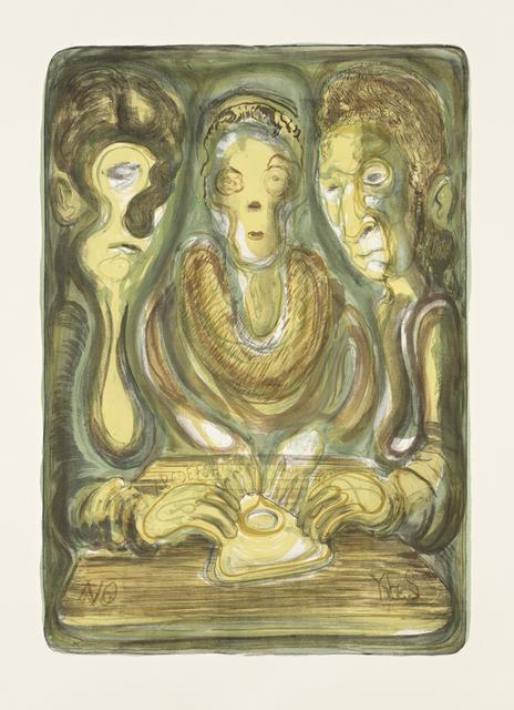 Nicole Eisenman, 'Ouija', 2012, Jungle Press
