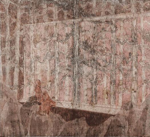 , 'Pavilion of Memories-Light Trees,' 2012, Aye Gallery